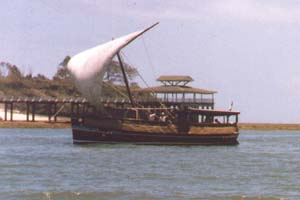 Dhow in Mombasa